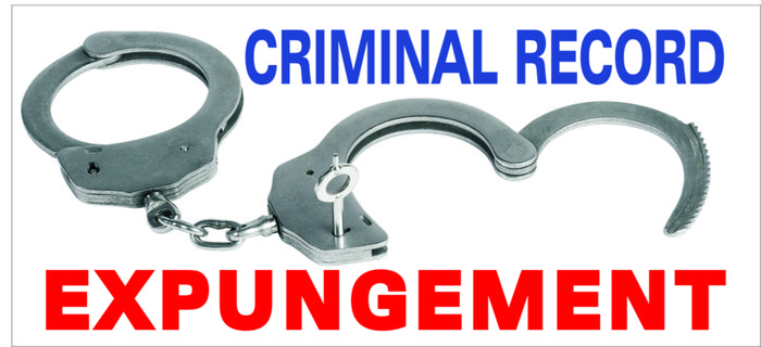 how to get criminal record expunged